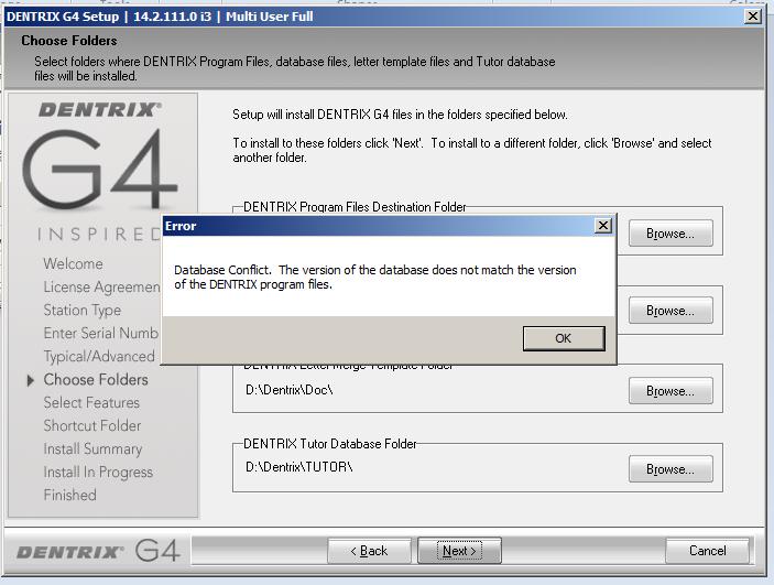 dentrix g4 software